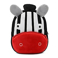 cheap Preschool Backpacks-Boys' / Girls' Bags Synthetic School Bag Zipper Animal Red black