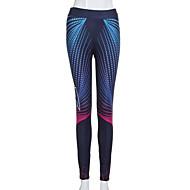 Mujer Diario Deportivo Legging - Geométrico / Bloques Alta cintura