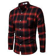 Men's Cotton Shirt - Plaid