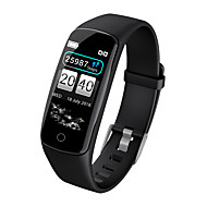 cheap New Arrivals-Kimlink V8 Smart Bracelet Smartwatch Android iOS Bluetooth Smart Sports Waterproof Heart Rate Monitor Pedometer Call Reminder Sleep Tracker Sedentary Reminder Find My Device