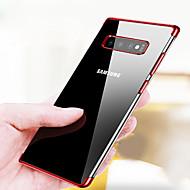 מגן עבור Samsung Galaxy גלקסי S10 / גלקסי S10 פלוס ציפוי / אולטרה דק / שקוף כיסוי אחורי אחיד רך TPU ל S9 / S9 Plus / S8 Plus