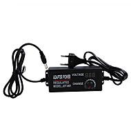Ayarlanabilir ac dc 3 v-24 v evrensel adaptör ile ekran voltaj regüle güç kaynağı adatpor 3 24