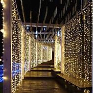3m * 3m 300 lumières de rideau de leds plongent led parti multi couleur blanc décoratif linkable 220-240 v 1pc
