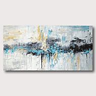 Hang målad oljemålning HANDMÅLAD - Abstrakt Samtida Moderna Inkludera innerram