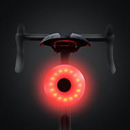 LED פנסי אופניים פנס אחורי לאופניים אורות בטיחות אורות זנב LED רכיבת הרים רכיבת אופניים עמיד במים נייד קל להתקנה Li-polymer 20 lm סוללה נטענת לבן אדום מחנאות / צעידות / טיולי מערות רכיבה על אופניים