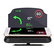 LT29 5.6 tum Andra CMOS-sensor Trådlös 5.62 tum Head Up Display Vattentät / Vikbar / Ny Design för Bilar / Buss / Truck GPS-navigering / Mät körhastighet / Körhastighet