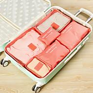 Rejsebagageorganisator / Rejsesæt Støv-sikker / Kompakt / Opbevaring under rejser for Net / Nylon 37.5*27*12 cm Alle / Unisex Rejse