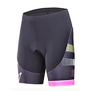 Malciklo Damen Fahrradhosen Fahhrad Shorts / Laufshorts Sport Schwarz / Rrot Bergradfahren Straßenradfahren Bekleidung Fahrradbekleidung / Mikro-elastisch