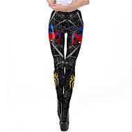 Dames Sportief Joggingbroeken Broek - Patroon / 3D Print Zwart