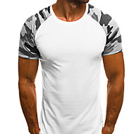 Kamouflage T-shirt Herr Grå XL