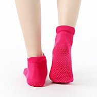 Dames Sport Sokken / Atletische Sokken Yoga Sokken Voor Yoga Pilates Barre - 1 paar Katoen / nylon met een vleugje stretch / Rekbaar
