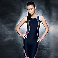 PHINIKISS Kadın's Mayo Hafif Nem Giyilebilir Naylon Mayolar Sahil Giyimi Mayolar Bodysuit 3D Baskı Yüzme