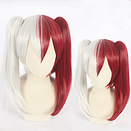 Cosplay Cosplay Parrucche Cosplay Tutti 18 pollice Tessuno resistente a calore Rosso Anime