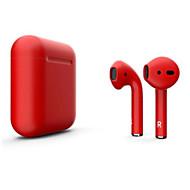 billige -litbest nye i12 blackpods redpods tws ekte trådløse ørepropper matt hud bluetooth 5.0 hodetelefoner dukker opp for ios med mikrofon håndfri berøringskontroll øretelefon