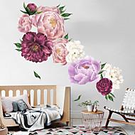 adesivi murali di fiori ricchi ed eleganti - parole&amp ampamp citazioni adesivi murali personaggi studio stanza / ufficio / sala da pranzo / cucina