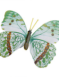 cheap -Glow-in-Dark Butterfly Home 3D butterfly wall stickers with Pin&Magnet  curtains Fridge Decoration