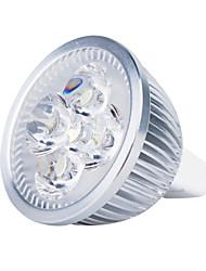preiswerte -3000lm GU5.3(MR16) LED Spot Lampen MR16 4 LED-Perlen Hochleistungs - LED Warmes Weiß 12V