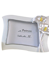 Flowers Resin Place Card Holders Frame Style Gift Box Wedding Favors