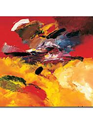 levne -ručně malované abstraktní olej s rozprostřeným rámem