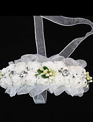 Niña de flor Tul Papel Celada-Boda Ocasión especial Casual Bandas de cabeza