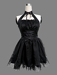 cheap -Princess Gothic Lolita Dress Punk Lolita Dress Punk Women's Dress Cosplay Sleeveless Short Length Halloween Costumes