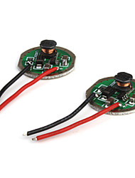 3.6V~9V 800mA Regulated IC Circuit Board for Cree and SSC LEDs (4-pack)