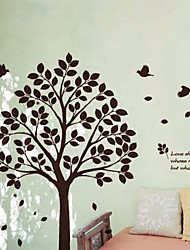 cheap -Animals Botanical Wall Stickers Plane Wall Stickers Decorative Wall Stickers, Vinyl Home Decoration Wall Decal Wall