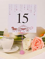 Недорогие -Цветы Материал Держатели для табличек Таблички с номерами столов Прочее Свадьба Полиэтиленовый пакет 10