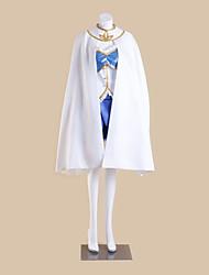 economico -Ispirato da Puella Magi Madoka Magica Sayaka Miki Anime Costumi Cosplay Abiti Cosplay Collage Senza maniche Top Gonna Maniche Mantello Per