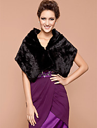 cheap -Feather / Fur Wedding / Party Evening Wedding  Wraps / Fur Wraps With Shawls