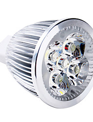 5W GU5.3(MR16) LED Spotlight MR16 5 High Power LED 400-500lm Warm White 3000K DC 12V