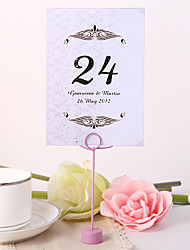 cheap -Personalized Table Number Card - Simple Design