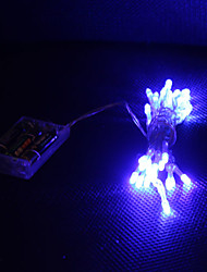 3M Blue 30 LED String Light 2 Sparking Modes (Flashing, Steady on)