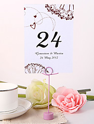 cheap -Personalized Table Number Card - Firework
