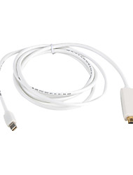 preiswerte -Mini Displayport Adapterkabel, Mini Displayport to HDMI 1.3 Adapterkabel Male - Male 1.8M (6Ft)