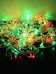 cheap -String Lights 300 LEDs Green Yellow Blue Red Color-Changing 220V