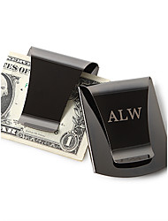 cheap -Stainless Steel Money Clips Groom Groomsman Wedding Anniversary Birthday