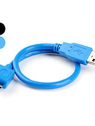 Недорогие -USB мужчина к USB-кабель 3,0 женщины (30 см)