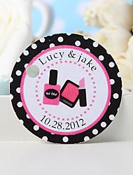 baratos -tag favor personalizado - cosméticos (conjunto de 36)
