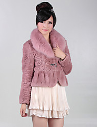 cheap -Gorgeous Long Sleeve Party/Office Rabbit Fur Fox Fur Collar Jacket (More Colors)