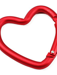 cheap -Heart Shaped Carabiner (Red)