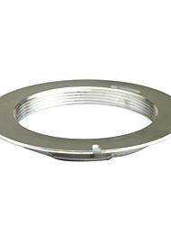 lentes m42 plata para Pentax pk k-5 k-7 k-01 kx laa km adaptador de montaje