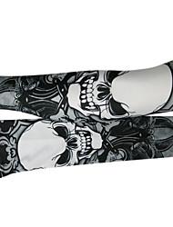 cheap -Kooplus Sleeves Quick Dry Cycling / Bike Men's 100% Polyester Skull Animal