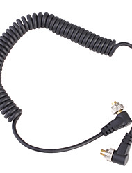Male to Male Sync Cable for NIKON SC-15 SC-11 with Screw Lock