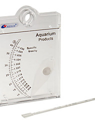 abordables -Poissons Aquarium Hydromètres Durable Plastique