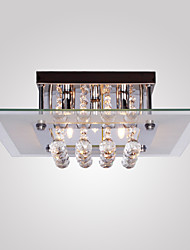 cheap -SL® 5-Light Flush Mount Ambient Light - Crystal, Mini Style, 110-120V / 220-240V Bulb Included / G9 / 40-50㎡
