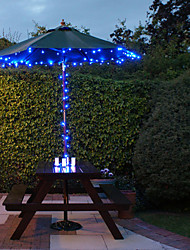 cheap -100 Blue Outdoor Led Solar Fairy Lights Christmas Decor Lamp Gifts