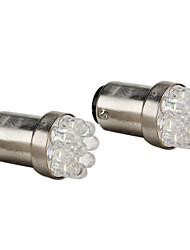 abordables -SO.K BAY15D (1157) Automatique Ampoules électriques LED Dip 15-20 lm Phare arrière For Universel