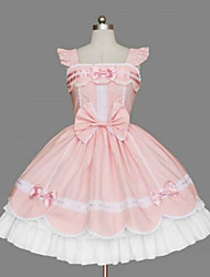 cheap -Sweet Lolita Dress Sweet Lolita Princess Women's Dress Cosplay Sleeveless Medium Length