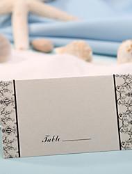 sted kort og holdere sted kort - romantik (sæt af 12) bryllup modtagelse